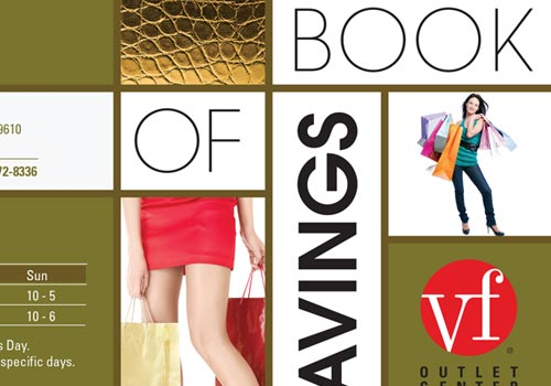VF OUTLET BOOK OF SAVINGS